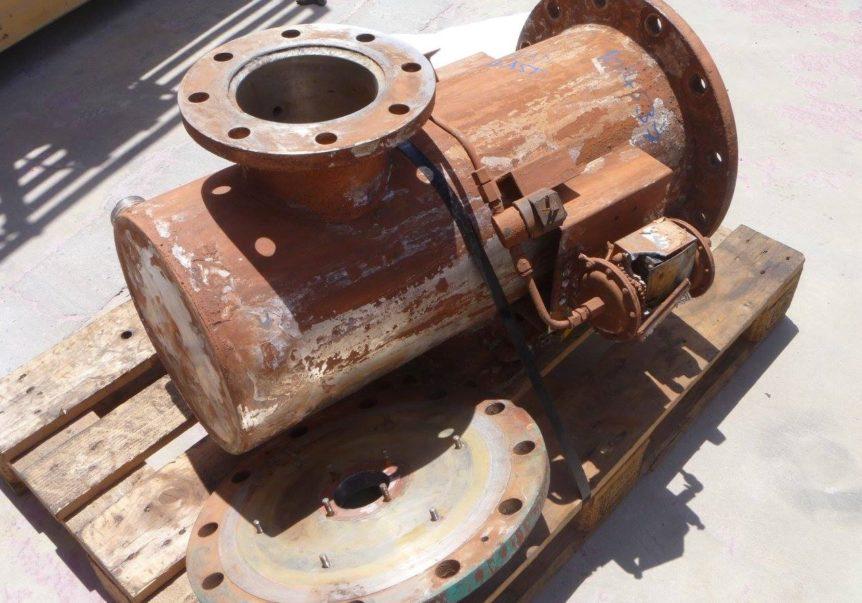equipment prior to blasting & priming