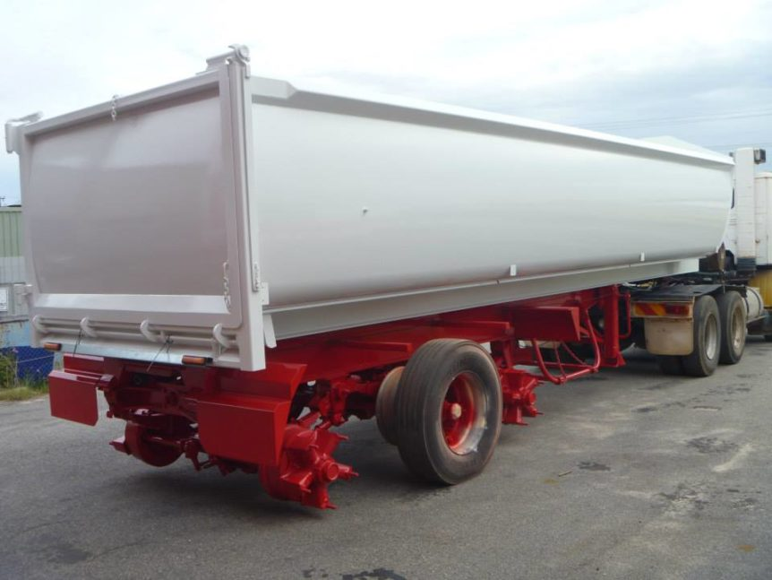 Truck body after protective coating at Absolute Blast Perth