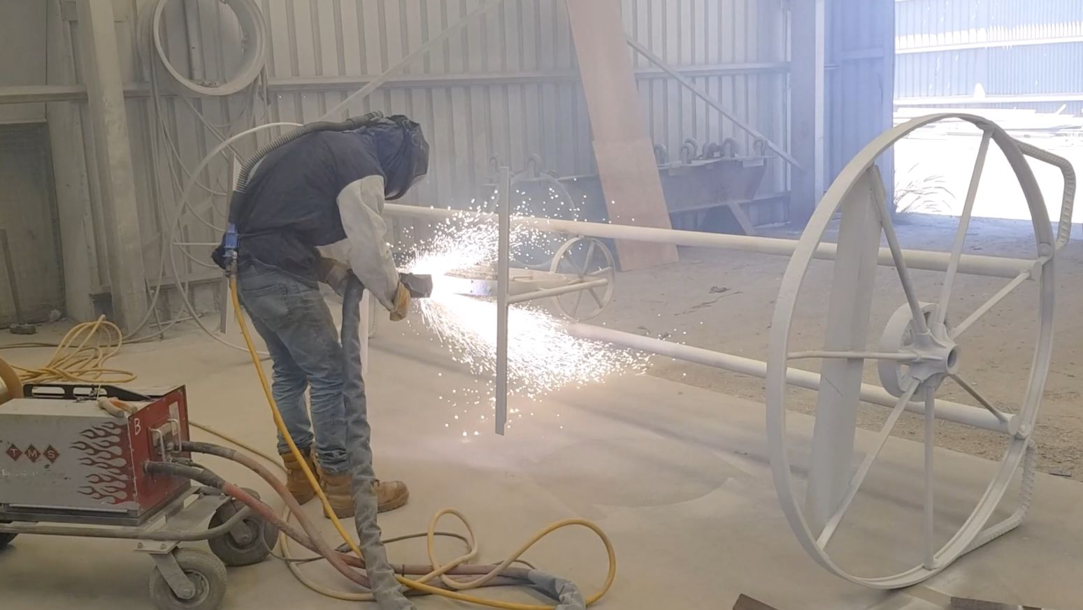 Arc Aluminum Spray coating