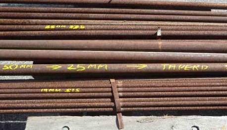 steel bar rusty perth